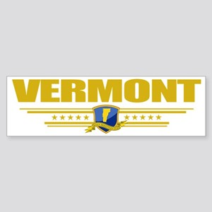 Vermont (Flag 10) pocket Sticker (Bumper)